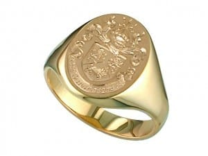 Coat of Arms Signet Rings at John Wallick Jewelers in Sun City, AZ