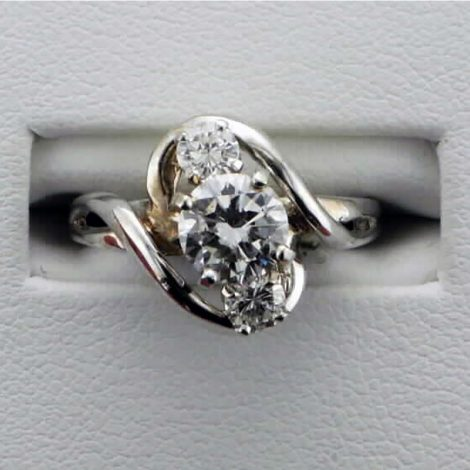 Lady's 3 stone diamond Ring available at John Wallick Jewelers in Sun City, Arizona near Glendale, AZ