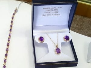 Amethyst Jewelry at John Wallick Jewelers in Sun City, Arizona near Phoenix, AZ