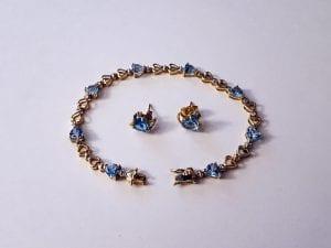 Aquamarine Jewelry Set -  Available at at John Wallick Jewelers in Sun City, Arizona near Phoenix, AZ