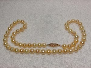 Cultured Akoya Pearl Strand available at John Wallick Jewelers, in Sun City, Arizona