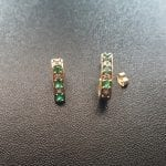 Emerald and Diamond Earrings, available at John Wallick Jewelers, in Sun City, Arizona, near Phoenix, AZ