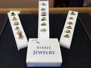 Estate Sapphires - Estate Jewelry at John Wallick Jewelers in Sun City Arizona near Phoenix, AZ