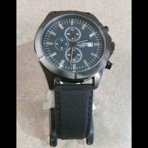 Gent's Eco-Drive Chronograph Wristwatch with Date