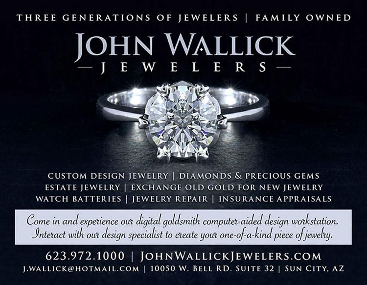 Visit John Wallick Jewelers in Sun City, Arizona