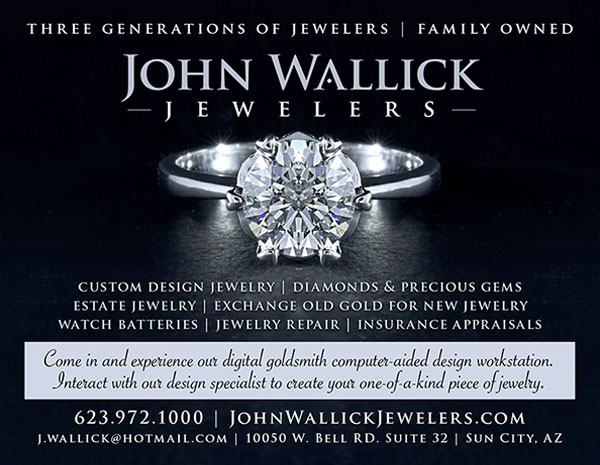 Visit John Wallick Jewelers in Sun City, Arizona