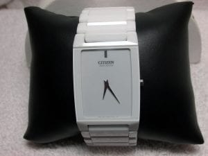 Ladies Citizen Eco Drive Watch available at John Wallick Jewelers, in Sun City, Arizona