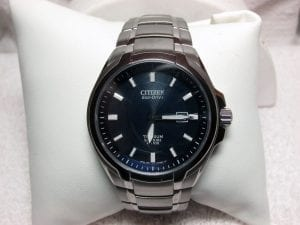 Men's Citizen Eco Drive Watch available at John Wallick Jewelers, in Sun City, Arizona