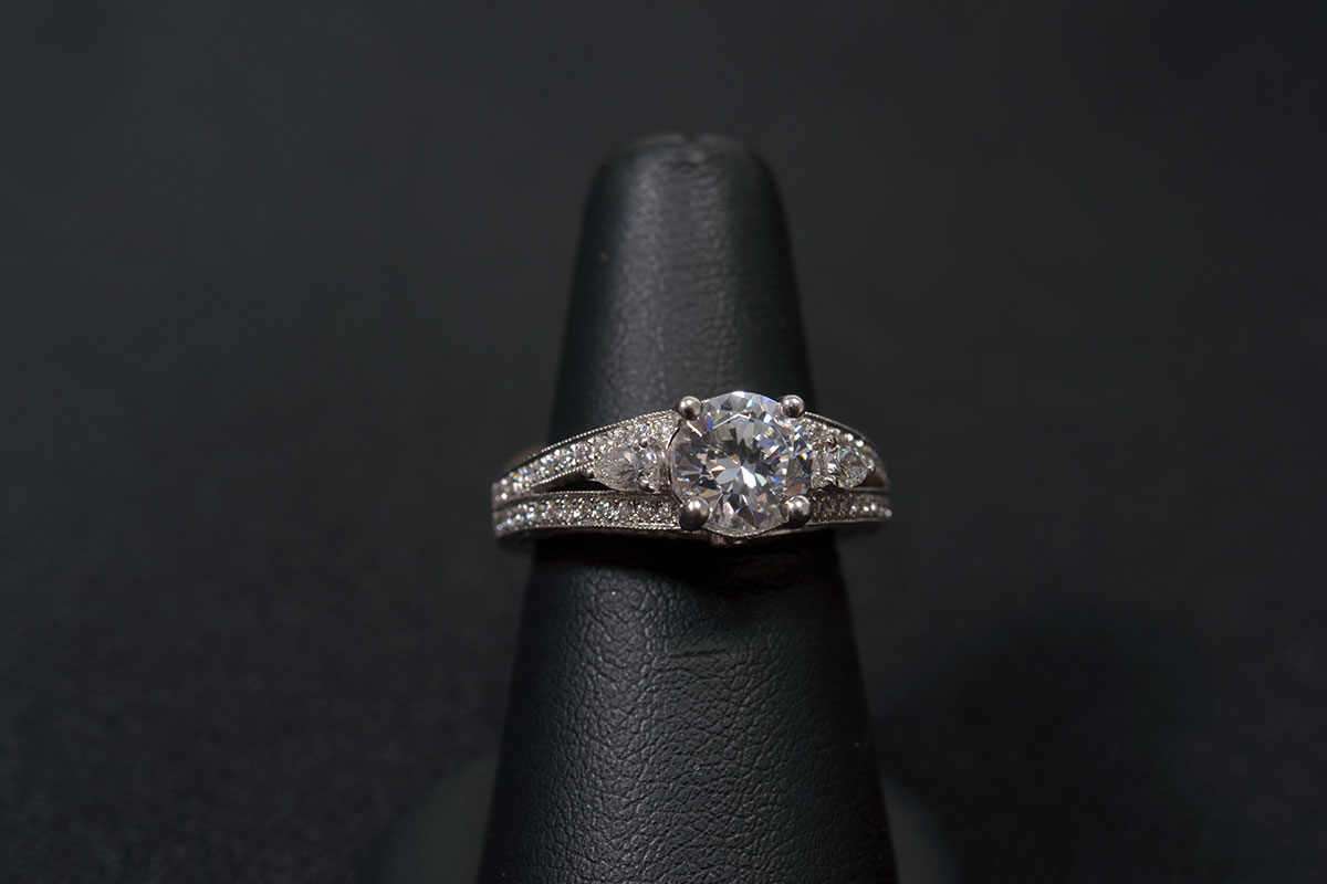 Lady S 14k White Gold Diamond Wedding Ring Available At John Wallick Jewelers In Sun City