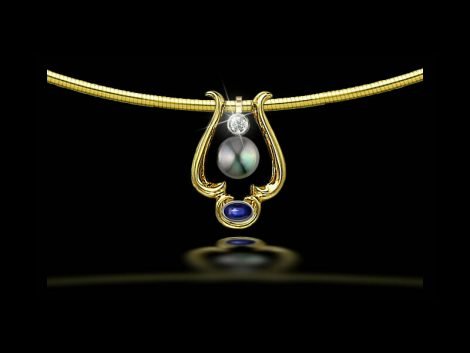 Black Pearl: John Wallick Jewelers, Sun City, AZ - Phoenix, Arizona