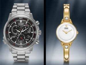 Citizen Watch Line with Eco-Drive available in Sun City Arizona at John Wallick Jewelers