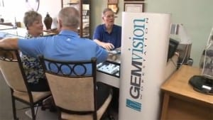 Custom Design Your Jewelry on a GEMvision Workstation at John Wallick Jewelers in Sun City Arizona