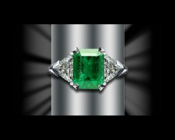 Emerald Rings available at John Wallick Jewelers in Sun City Arizona near Phoenix AZ