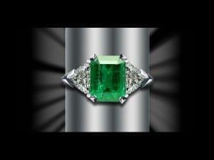 Emerald Rings available at John Wallick Jewelers in Sun City Arizona near Phoenix AZ
