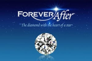 The Forever After Diamond, the diamond with the heart of a star, available at John Wallick Jewelers in Sun City Arizona near Phoenix, AZ.