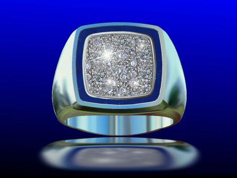 Gtspave Ring: John Wallick Jewelers, Sun City, AZ - Phoenix, Arizona