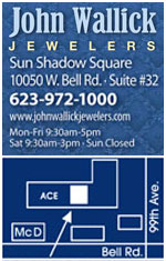 John Wallick Jewelers, Sun Shadow Square, Sun City, Arizona, 85351, Phoenix, AZ,