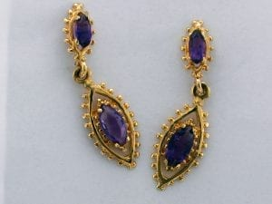 Multiple Amethyst Earrings at John Wallick Jewelers in Sun City, Arizona near Phoenix, AZ