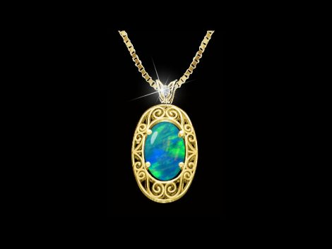 Opal Pendant: John Wallick Jewelers, Sun City, AZ - Phoenix, Arizona