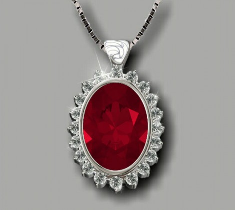 Ruby Pendant: John Wallick Jewelers, Sun City, AZ - Phoenix, Arizona