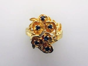 Sapphire Ring - the Birthstone for September, available at John Wallick Jewelers, in Sun City, Arizona, near Phoenix, AZ