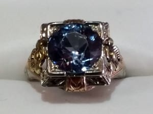 Zircon Ring at John Wallick Jewelers, in Sun City, Arizona, near Phoenix, AZ